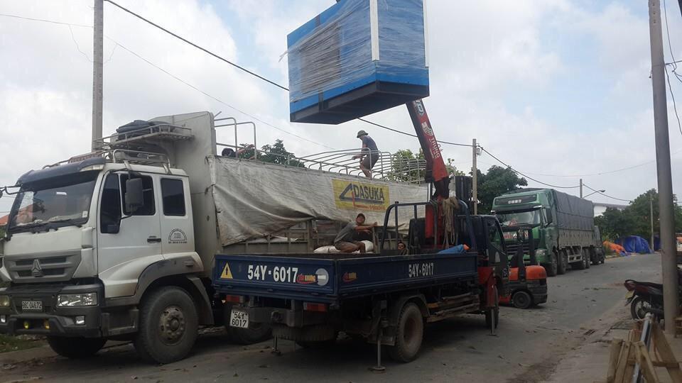 Xe tải chuyển hàng tại chành xe đi Đà Nẵng