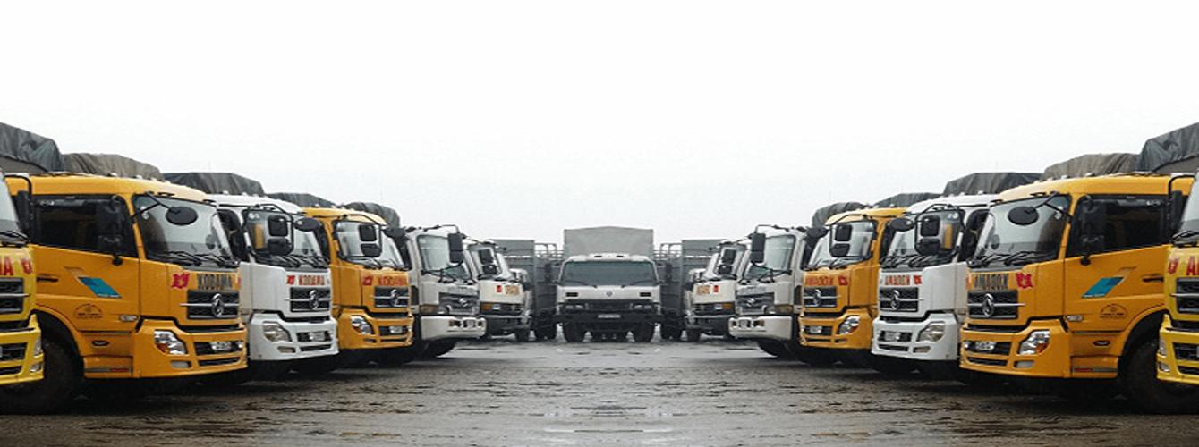 Xe tải chuyển hàng tại Chành xe đi Phú Yên gồm những loại nào ?